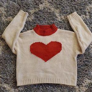 Cute sweater.